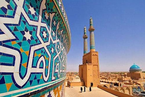 mosaic-facade-of-Jameh-mosque